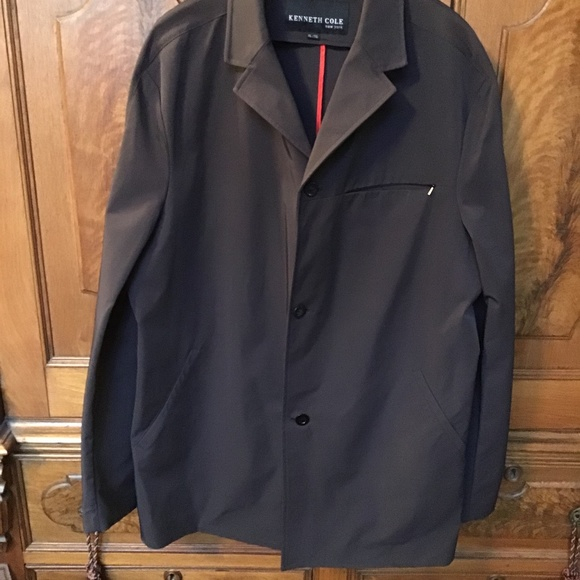 KENNETH COLE MENS SZ XL/TG TRENCH JACKET